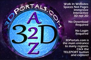 3D Portals - 3D Website Only,No Avatars