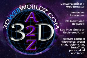 3DWebWorldz - Virtual World in a Web Browser