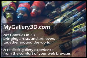 Online Art Galleries in 3D